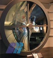 戦艦「大和」型150センチ探照灯反射鏡